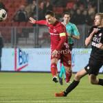 06-02-2017: Voetbal: Almere City FC v FC Emmen: Almere (L-R) Soufyan Ahannach (Almere City FC), Tim Siekman (FC Emmen) Seizoen 2016 / 2017