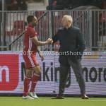 06-02-2017: Voetbal: Almere City FC v FC Emmen: Almere (L-R) Sherjill Mac-Donalds (Almere City FC), Jack de Gier - Technisch manager/Hoofdtrainer (Almere City FC) Seizoen 2016 / 2017