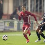 06-02-2017: Voetbal: Almere City FC v FC Emmen: Almere Silvester van de Water (Almere City FC) Seizoen 2016 / 2017