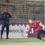 10-02-2017: Voetbal: FC Den Bosch v Almere City FC: Den Bosch Roy Pistoor (Almere City FC) Jupiler League 2016 / 2017