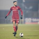 10-02-2017: Voetbal: FC Den Bosch v Almere City FC: Den Bosch Abdel Metalsi (Almere City FC) Jupiler League 2016 / 2017