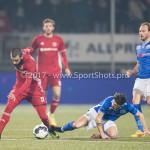 10-02-2017: Voetbal: FC Den Bosch v Almere City FC: Den Bosch (L-R) Soufyan Ahannach (Almere City FC), Alessio Carlone (FC Den Bosch) Jupiler League 2016 / 2017