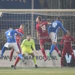 10-02-2017: Voetbal: FC Den Bosch v Almere City FC: Den Bosch (L-R) Damon Mirani (Almere City FC), Jeremy Fernandes (FC Den Bosch) Jupiler League 2016 / 2017