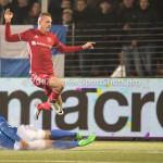 10-02-2017: Voetbal: FC Den Bosch v Almere City FC: Den Bosch (L-R) Jeremy Fernandes (FC Den Bosch), Lars Nieuwpoort (Almere City FC) Jupiler League 2016 / 2017