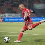 10-02-2017: Voetbal: FC Den Bosch v Almere City FC: Den Bosch Sherjill Mac-Donalds (Almere City FC) Jupiler League 2016 / 2017