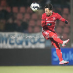 10-02-2017: Voetbal: FC Den Bosch v Almere City FC: Den Bosch Gaston Salasiwa (Almere City FC) Jupiler League 2016 / 2017