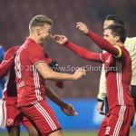 10-02-2017: Voetbal: FC Den Bosch v Almere City FC: Den Bosch (L-R) Rick ten Voorde (Almere City FC), Tom Overtoom (Almere City FC) Jupiler League 2016 / 2017