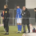 10-02-2017: Voetbal: FC Den Bosch v Almere City FC: Den Bosch (L-R) Romero Regales (FC Den Bosch), Wiljan Vloet - Hoofdtrainer (FC Den Bosch) Jupiler League 2016 / 2017