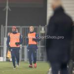 10-02-2017: Voetbal: FC Den Bosch v Almere City FC: Den Bosch (L-R) Arsenio Valpoort (Almere City FC), Silvester van de Water (Almere City FC) Jupiler League 2016 / 2017