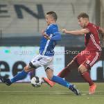10-02-2017: Voetbal: FC Den Bosch v Almere City FC: Den Bosch (L-R) Ben Santermans (FC Den Bosch), Rick ten Voorde (Almere City FC) Jupiler League 2016 / 2017