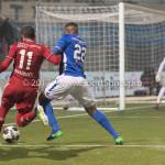 10-02-2017: Voetbal: FC Den Bosch v Almere City FC: Den Bosch (L-R)Soufyan Ahannach (Almere City FC),  Jeremy Fernandes (FC Den Bosch) Jupiler League 2016 / 2017