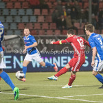 10-02-2017: Voetbal: FC Den Bosch v Almere City FC: Den Bosch Tom Overtoom (Almere City FC) Jupiler League 2016 / 2017