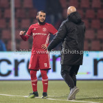 10-02-2017: Voetbal: FC Den Bosch v Almere City FC: Den Bosch (L-R) Soufyan Ahannach (Almere City FC), Marco Heering - Assistent trainer (Almere City FC) Jupiler League 2016 / 2017