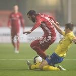 Voetbal: Almere City v SC Cambuur: Almere (L-R) Soufyan Ahannach (Almere City FC), Jordy van Deelen (SC Cambuur) Jupiler League 2016 / 2017