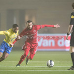 Voetbal: Almere City v SC Cambuur: Almere (L-R) Jerge Hoefdraad (SC Cambuur), Soufyan Ahannach (Almere City FC) Jupiler League 2016 / 2017
