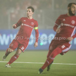 Voetbal: Almere City v SC Cambuur: Almere (L-R) Tom Overtoom (Almere City FC), Soufyan Ahannach (Almere City FC) Jupiler League 2016 / 2017