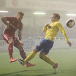 Voetbal: Almere City v SC Cambuur: Almere (L-R) Rick ten Voorde (Almere City FC), Jordy van Deelen (SC Cambuur) Jupiler League 2016 / 2017