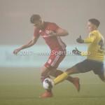 Voetbal: Almere City v SC Cambuur: Almere (L-R) Rick ten Voorde (Almere City FC), Omar El Baad (SC Cambuur) Jupiler League 2016 / 2017
