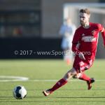 18-02-2017: Voetbal: Jong Almere City FC v IJsselmeervogels: Almere Jasper Waalkens (Almere City FC) 3de divisie zaterdag 2016 /2017