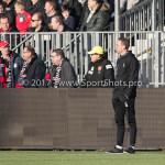 18-02-2017: Voetbal: Jong Almere City FC v IJsselmeervogels: Almere Rene Koster - Hoofd opleiding / Trainer Jong (Jong Almere City FC) 3de divisie zaterdag 2016 /2017