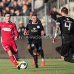 18-02-2017: Voetbal: Jong Almere City FC v IJsselmeervogels: Almere Dyllan Lanser (Almere City FC) 3de divisie zaterdag 2016 /2017