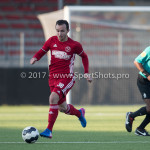 18-02-2017: Voetbal: Jong Almere City FC v IJsselmeervogels: Almere Danny van Haaren (Jong Almere City FC) 3de divisie zaterdag 2016 /2017