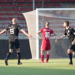 18-02-2017: Voetbal: Jong Almere City FC v IJsselmeervogels: Almere Berry Powel (Ijsselmeervogels) 3de divisie zaterdag 2016 /2017