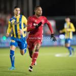 24-02-2017: Voetbal: Almere City FC v FC Oss: Almere Arsenio Valpoort (Almere City FC) Jupiler League 2016 / 2017