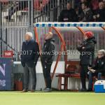 24-02-2017: Voetbal: Almere City FC v FC Oss: Almere (L-R) Jack de Gier - Technisch manager/Hoofdtrainer (Almere City FC), Marco Heering - Assistent trainer (Almere City FC) Jupiler League 2016 / 2017