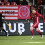 13-03-2017: Voetbal: Almere City FC v FC Dordrecht: Almere Jeffrey Rijsdijk (Almere City FC) Jupiler League 2016 / 2017