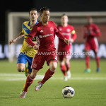 13-03-2017: Voetbal: Almere City FC v FC Dordrecht: Almere Gaston Salasiwa (Almere City FC) Jupiler League 2016 / 2017
