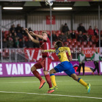 13-03-2017: Voetbal: Almere City FC v FC Dordrecht: Almere (L-R) Rick ten Voorde (Almere City FC), Luivienno Statia (FC Dordrecht) Jupiler League 2016 / 2017
