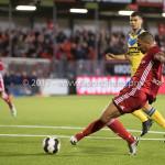 13-03-2017: Voetbal: Almere City FC v FC Dordrecht: Almere Sherjill Mac-Donalds (Almere City FC) Jupiler League 2016 / 2017