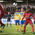 13-03-2017: Voetbal: Almere City FC v FC Dordrecht: Almere Calvin Mac Intosch (Almere City FC) Jupiler League 2016 / 2017