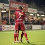 13-03-2017: Voetbal: Almere City FC v FC Dordrecht: Almere (L-R) Sherjill Mac-Donalds (Almere City FC), Gaston Salasiwa (Almere City FC) Jupiler League 2016 / 2017