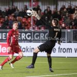 13-03-2017: Voetbal: Almere City FC v FC Dordrecht: Almere (L-R) Jeffrey Rijsdijk (Almere City FC), Tim Coremans (FC Dordrecht) Jupiler League 2016 / 2017