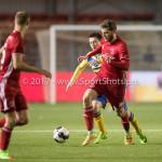 13-03-2017: Voetbal: Almere City FC v FC Dordrecht: Almere Javier Vet (Almere City FC) Jupiler League 2016 / 2017
