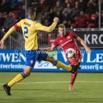 13-03-2017: Voetbal: Almere City FC v FC Dordrecht: Almere (L-R) Mawouna Amevor (FC Dordrecht), Rick ten Voorde (Almere City FC) Jupiler League 2016 / 2017