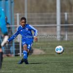 25-03-2017: Voetbal: Almere City FC O13 v de Foresters O13: Almere Abdelilah Lechkar (Almere City FC O13)9 Seizoen 2016 / 2017
