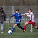 25-03-2017: Voetbal: Almere City FC O13 v de Foresters O13: Almere Lars Reuling (Almere City FC O13) Seizoen 2016 / 2017