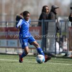 25-03-2017: Voetbal: Almere City FC O13 v de Foresters O13: Almere Chiverio Adely (Almere City FC O13) Seizoen 2016 / 2017