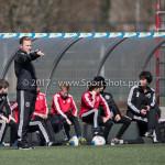 25-03-2017: Voetbal: Almere City FC O13 v de Foresters O13: Almere Marciano Nonneman - Trainer (Almere City FC O13) Seizoen 2016 / 2017
