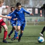 25-03-2017: Voetbal: Almere City FC O13 v de Foresters O13: Almere Younes Ahrouch (Almere City FC O13) Seizoen 2016 / 2017