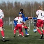 25-03-2017: Voetbal: Almere City FC O13 v de Foresters O13: Almere Eladjah Nijon (Almere City FC O13) Seizoen 2016 / 2017
