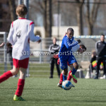 25-03-2017: Voetbal: Almere City FC O13 v de Foresters O13: Almere Dychayro Naarendorp (Almere City FC O13) Seizoen 2016 / 2017