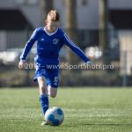 25-03-2017: Voetbal: Almere City FC O13 v de Foresters O13: Almere Sem de Vries (Almere City FC O13) Seizoen 2016 / 2017