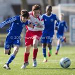 25-03-2017: Voetbal: Almere City FC O13 v de Foresters O13: Almere Chay Gerber (Almere City FC O13) Seizoen 2016 / 2017