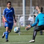 25-03-2017: Voetbal: Almere City FC O13 v de Foresters O13: Almere Noah Gesser (Almere City FC O13) Seizoen 2016 / 2017