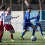 25-03-2017: Voetbal: Almere City FC O13 v de Foresters O13: Almere Kylan Gomes (Almere City FC O13) Seizoen 2016 / 2017