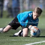 25-03-2017: Voetbal: Almere City FC O13 v de Foresters O13: Almere Seizoen 2016 / 2017